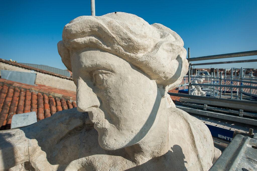 Sécurisation et restauration de la façade principale du Capitole - Toulouse,