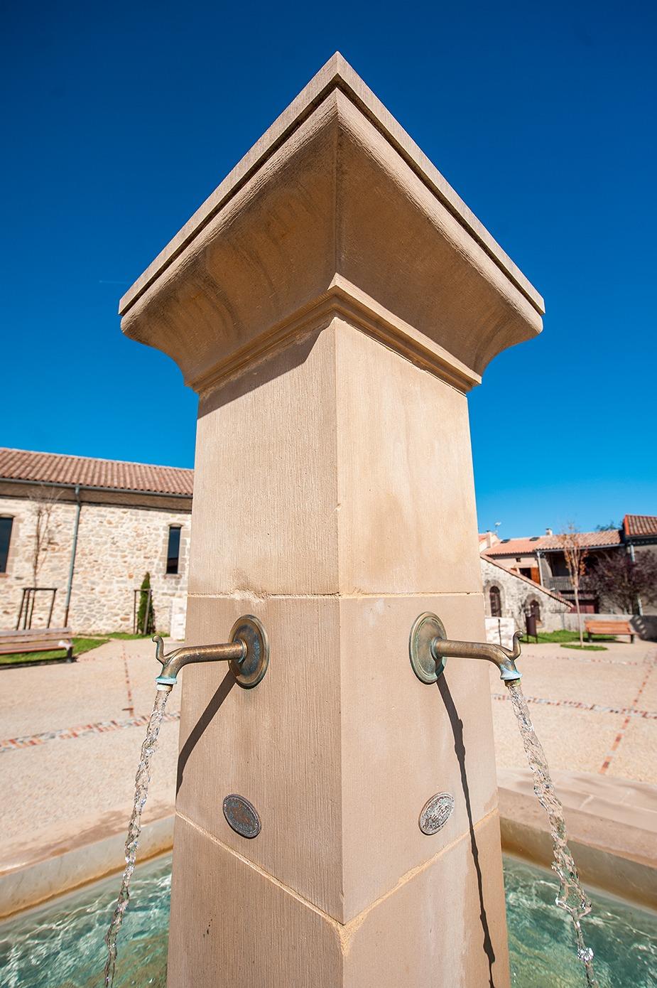 Création d'une fontaine