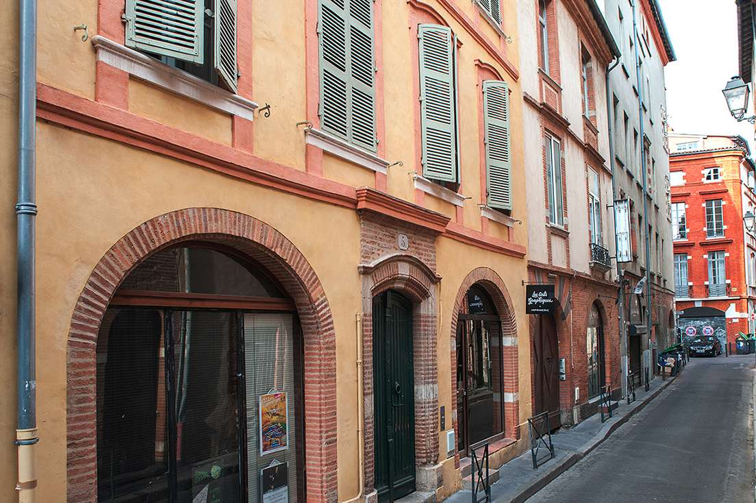 Façade centre-ville Toulouse