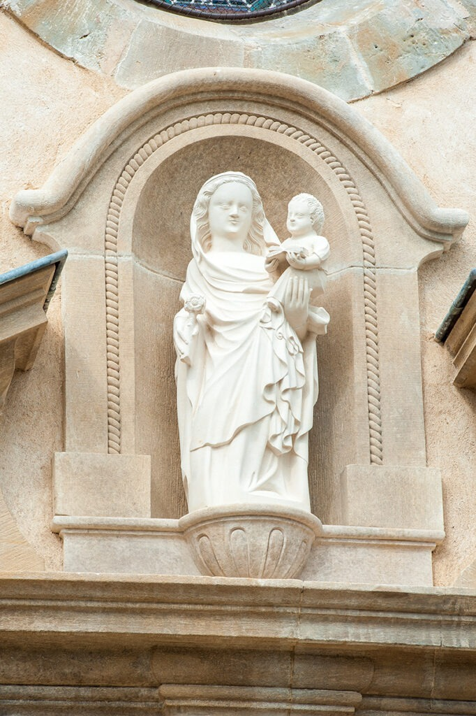 Restauration de la façade principale de la Basilique Notre-Dame du Spasme (Lot sculpture)