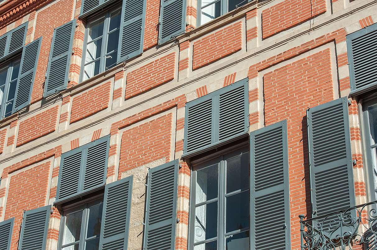 Façade cœur de ville à Toulouse