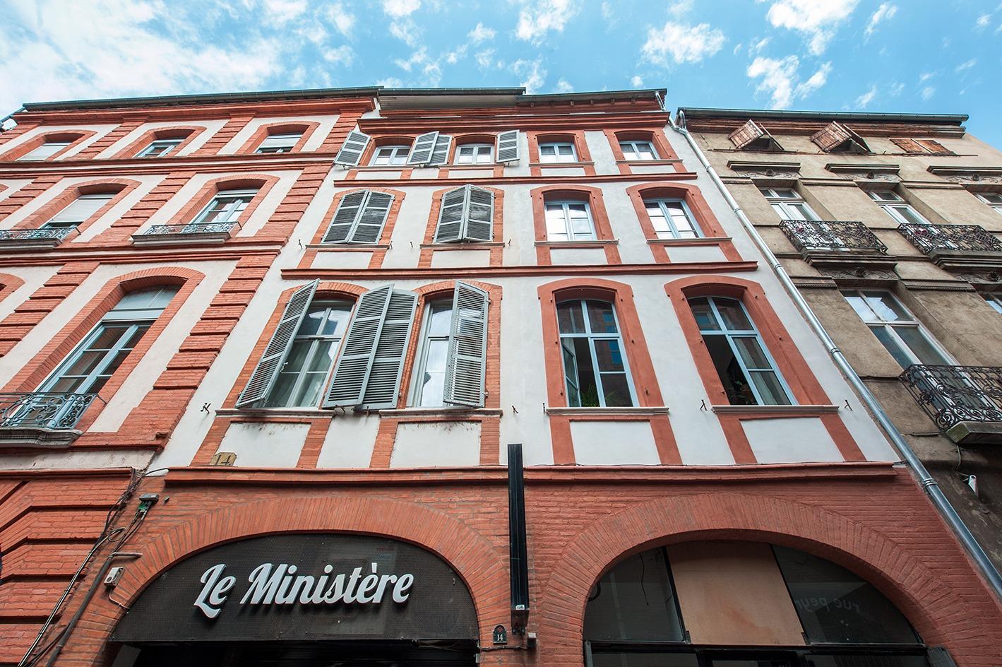 Façade cœur de ville Toulouse