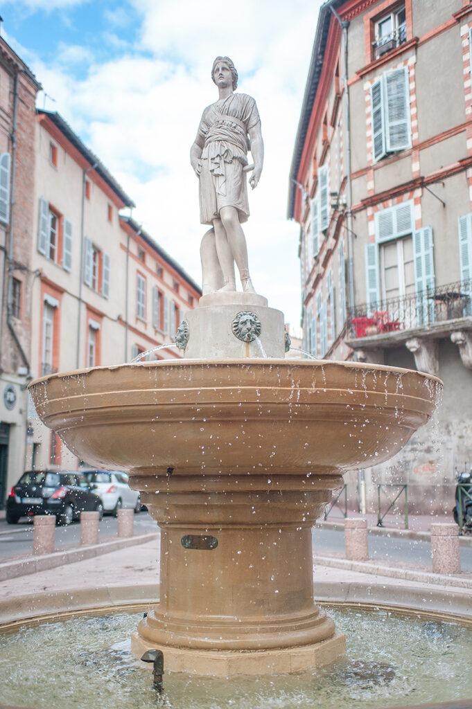 Fontaine à Toulouse