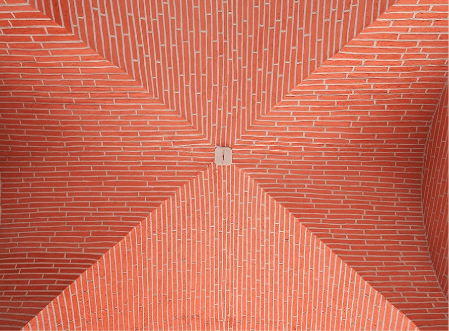 Restauration d'un porche d'immeuble